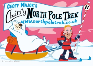 Douglas Jackson - off to the North Pole!