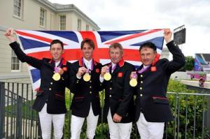 TEAM GB Equestrian Team Gold