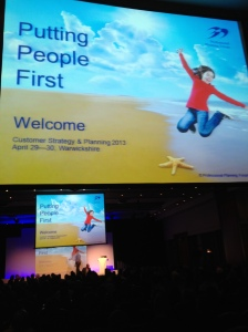 Customer Strategy & Planning 2013 - Putting People First