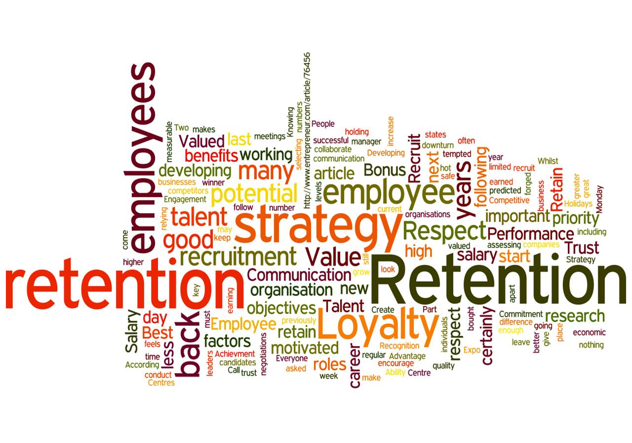 employe retention Employee retention refers to all those practices which let the employees stick to an organization for a longer time employee retention techniques go a long way in motivating the employees for them to enjoy their work and avoid changing jobs frequently.