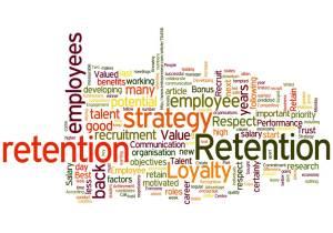 How to Retain the Best Talent - Employee Retention Douglas Jackson Wordle