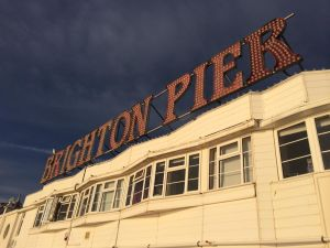 Douglas Jackson Brighton Pier at Customer Strategy Professional Planning Conference