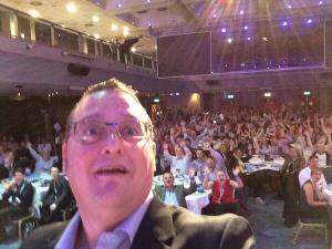 PPFConf Chris Rainsforth the Brighton Resource Planning #selfie