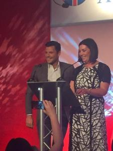 THE CCMA UK National Contact Centre Awards with Suprise Guest Mark Wright