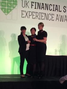Hannah- Louise Cox Douglas Jackson at FX UK Financial Experience Awards #ukfxawards