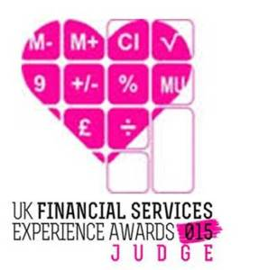 UK Financial Services Experience Awards 2015 Judge