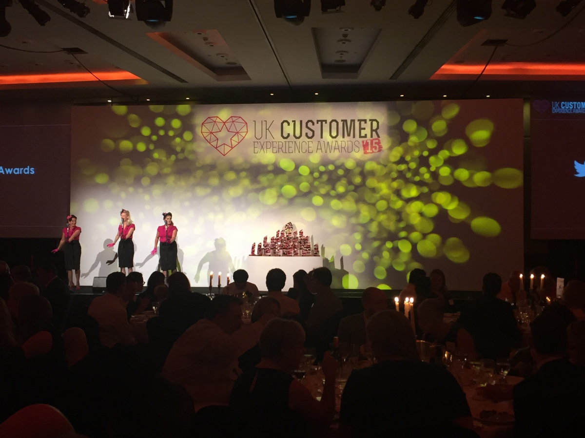UK Customer Experience Awards 2015