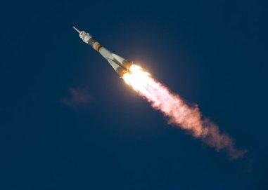Blast Off Time Peake International Space Station Photo NASA Kowsky