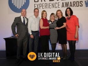 UK Digital Experiance Awards 2015 DFS #ukdxawards