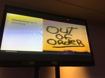 Marketing isn't working - Customer Service investment plantronics CCMA seminar