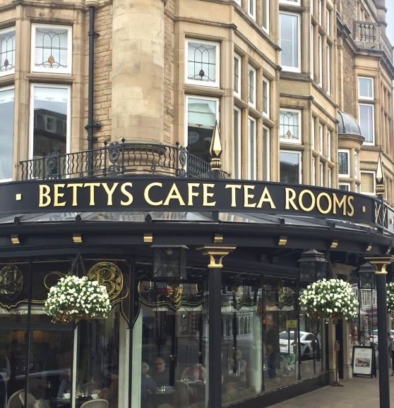 Betty's tea shop harrogate customer strategy and planning conference 2017