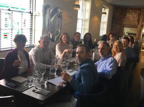 Douglas Jackson recruitment 10th Anniversary wine house