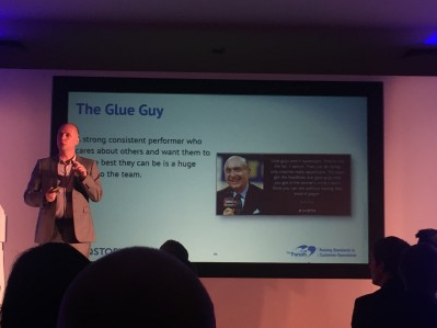 Steve Woosey The Forum The Glue Guy - Customer Strategy and Planning 2017