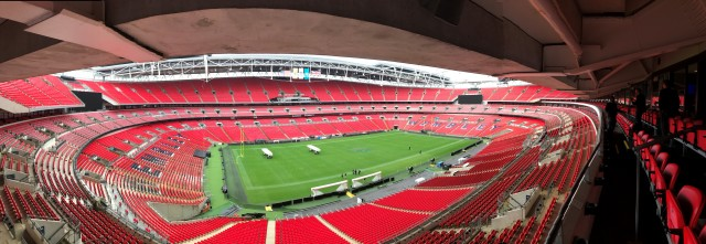 UK Customer Experience Awards Wembley Stadium Pano Douglas Jackson Recruitment Judging