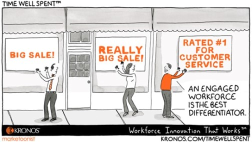 An engaged workforce is the best differentiator kronos.com