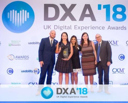 HMA winners DXA Awards