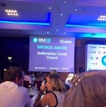UK DXA Bronze award winner