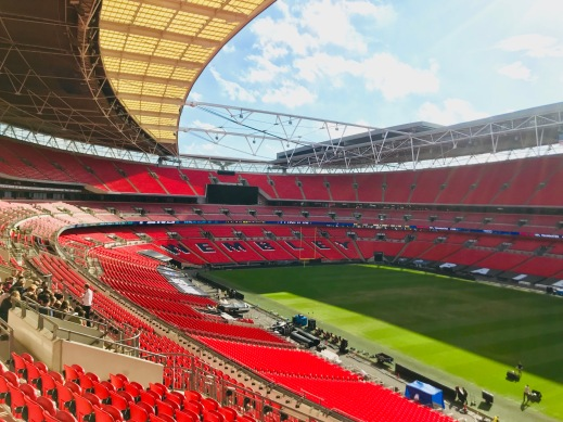 Wembley Stadium CX awards 2018 Customer Experience, Douglas Jackson