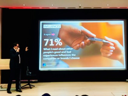 Ben Page Ipsos Mori 71% experience National Contact Centre Conference 2018