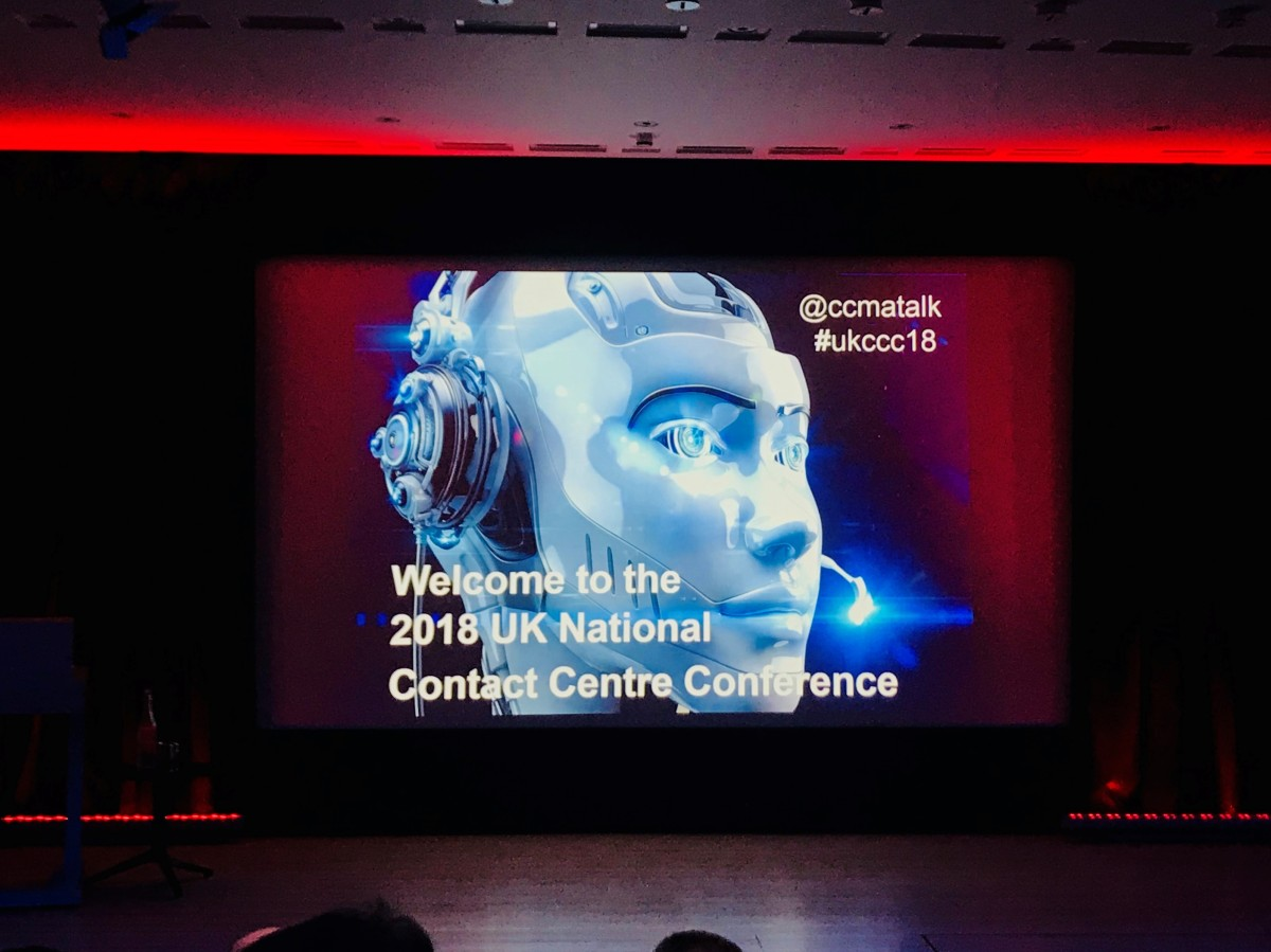 'Delivering World Class Service With a Human Touch' - UK National Contact Centre Conference 2018