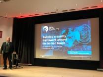 Martin Teasdale BPQ Quality building a quality framework #ukccc18