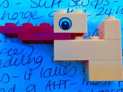 TeamDJ duck build a duck LEGO #ukccc18 Douglas Jackson