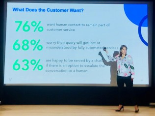 What does the customer want Marije Gould Verint #ukccc18